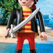 Obrovská figurka piráta XXL s mečom