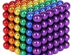 Magnetické guličky 5 mm - viacfarebné