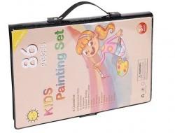 Súprava na maľovanie v kufríku 86 položiek