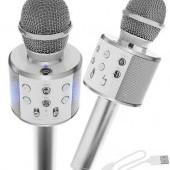 Karaoke mikrofón s reproduktorom