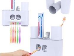 Automatický dávkovač pre dve zubné pasty