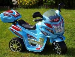 Detská elektrická motorka Viper diaľničnej polície