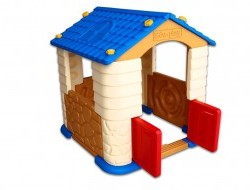 Skladací hrací plastový domček, do izby aj na záhradu