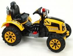 Elektrický traktor Kingdom s mohutnými kolesami a konštrukciou