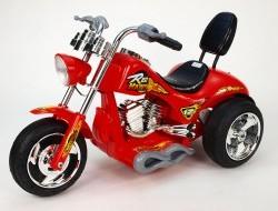 Elektrický silný a rýchly chopper Red Hawk