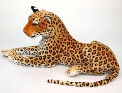Veľký plyšový leopard dĺžky 170cm