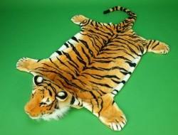 Tiger ORANŽOVÝ veľkosť 167cm x 96cm predložka