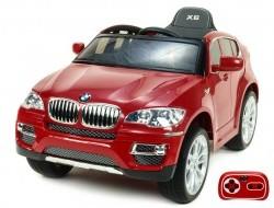 Elektrické autíčko BMW X6 s 2,4G bluetooth diaľkovým ovládaním