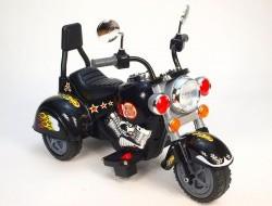 Elektrická nabíjacia motorka chopper Harley 6V