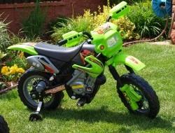 Elektrická nabíjacia motorka Crosska 6V