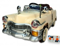 Elektrické autíčko Retro Kuba