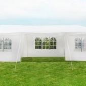 Záhradný párty stan 3 x 9 m + 8 bočných stien