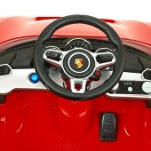 Porsche 918 Spyder s 2.4G DO, multifunkčným volantom, otváracími dverami, výsuvným krídlom, FM, Mp3, 12V