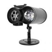 LED Projektor na vonkajšie použitie - 12 motívov s diaľkovým ovládačom