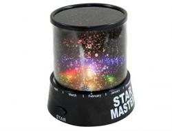 Nočná lampička - projektor s motívom hviezd