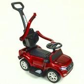 Ford Ranger pre najmenších, 6V elektrické autíčko s vodiacou tyčou, strieškou, madlami, 2 opierky, TF card, lakované