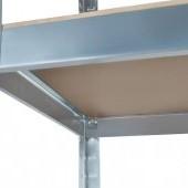 Kovový bezskrutkový regál 150x75x30cm