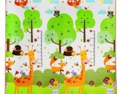 Detská veľká rohož žirafa 180x180x1cm