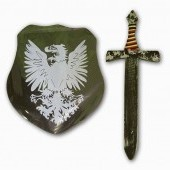 Detský štít s mečom