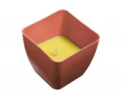 Dekoratívna sviečka Citronella proti komárom