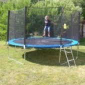 Záhradná trampolína 366 cm + sieť + rebrík