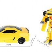 Auto transformers 2 v 1 na diaľkové ovládanie