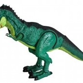 Dinosaurus na diaľkové ovládanie so zvukmi a dymom 45 cm