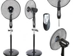 Stojanový ventilátor s diaľkovým ovládaním
