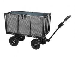 Veľký záhradný vozík s výklopnými bokmi nosnosť 350 Kg