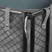 Záhradný vozík s výklopnými bokmi nosnosť 350 Kg