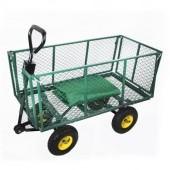 Veľký záhradný vozík s výklopnými bokmi