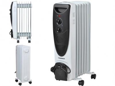 Olejový radiátor 1500W