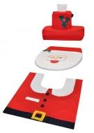 Vianočná dekorácia na toaletu