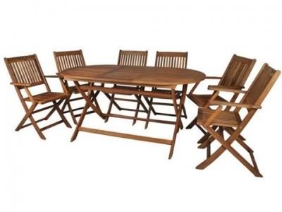 Záhradný nábytok 1 + 6