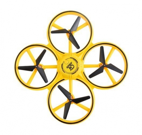 Dron ovládaný gestami