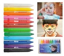 Farbičky na maľovanie tváre 12ks