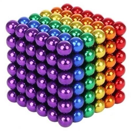 Magnetické guličky 3 mm - viacfarebné