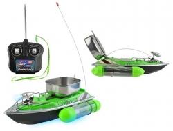 Zakrmovacia loďka na diaľkové ovládanie