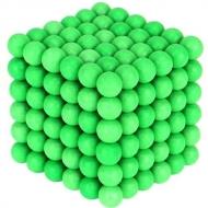 Magnetické guličky 216 ks. 5 mm - Svietiace v tme