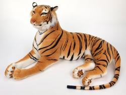 Obrovský plyšový tiger dĺžky 200cm