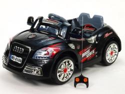 Elektrické auto športové cabrio TT s DO, 2x motor, 12V