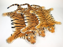 Predložka tiger ORANŽOVÝ, veľkosť XXL, 240cm x 143cm