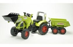 Šlapací traktor Claas Arion 540 s funkčnou prednou lyžicou