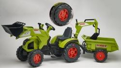 Šlapací traktor Claas Axos 330