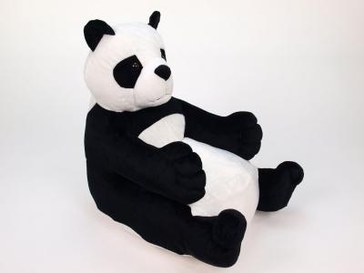 Plyšové kresielko pre detičky PANDA