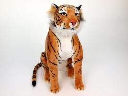 Tiger sediaci oranžový 70cm