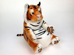 Kresielko pre deti tiger oranžový