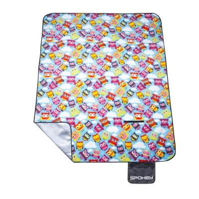 PICNIC OWL Pikniková deka s popruhom 180x210 cm