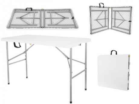 Skladací stôl 122 cm