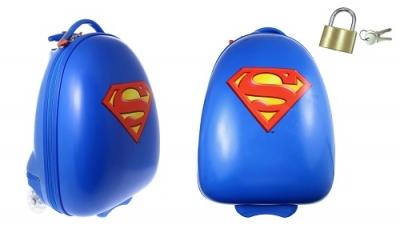 Detský kufor na kolieskach Superman
